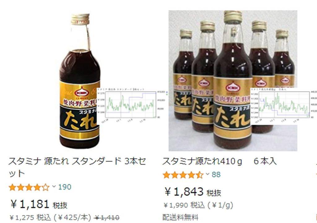 Amazon検索結果画面